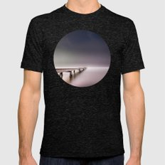 Nebel II (in Color) Mens Fitted Tee Tri-Black SMALL