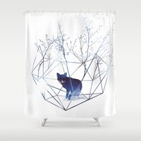 Organic Prison Shower Curtain