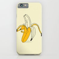 iPhone & iPod Case featuring Banana by Maureen Placente