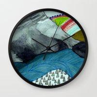 Landscapes / Nr. 4 Wall Clock