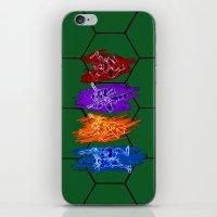 TMNT Rock iPhone & iPod Skin