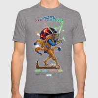 Hope Returns Mens Fitted Tee Tri-Grey SMALL