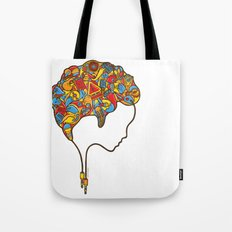 Musical Mind Tote Bag
