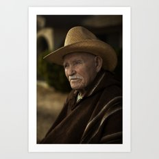 Joshua Tree Portrait 3 Art Print