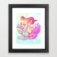 Jackie (Tenta-Lolli 4) Framed Art Print