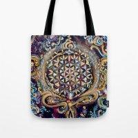 Gayatri - Creation Om Time Tote Bag