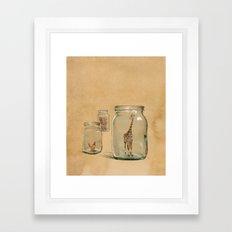 Glass Menagerie Framed Art Print