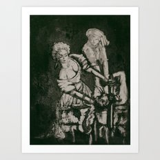 Judith and Holofernes Art Print
