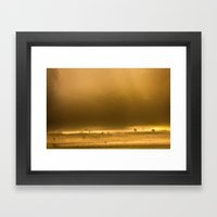 Autumn Dawn Framed Art Print