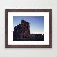 Bodie Barn Framed Art Print