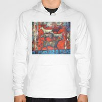 Hoody featuring Street dogs. by Nato Gomes
