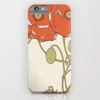 Graphic Poppies iPhone 6 Slim Case