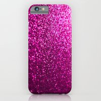 iPhone & iPod Case featuring Pink Sparkle Glitter by xjen94