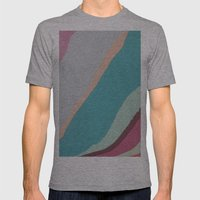 Gliss Mens Fitted Tee Athletic Grey SMALL