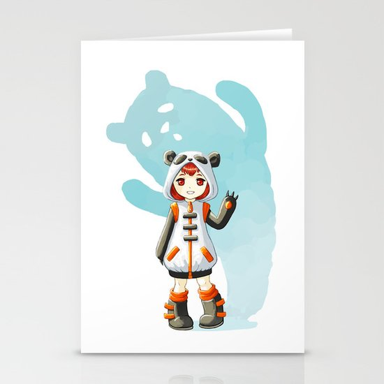 Cosplay Stationery Card