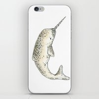 Narwhal iPhone & iPod Skin