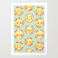 Let It Shine Art Print