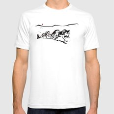 Sknowledge Mens Fitted Tee White SMALL
