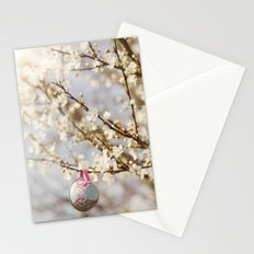 teacups in the blossom Stationery Cards