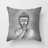 Shh... Do Not Disturb - … Throw Pillow