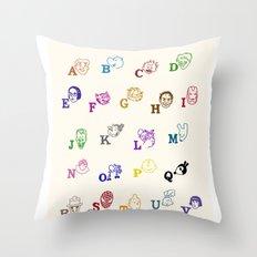 ABComics Throw Pillow