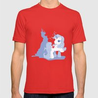 My Little Last Unicorn Mens Fitted Tee Red SMALL