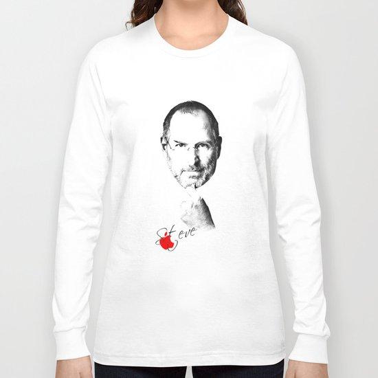 Steve Jobs Long Sleeve T-shirt