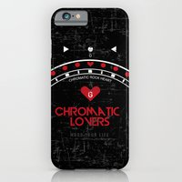 iPhone & iPod Case featuring Chromatic Lovers by Alberto Angiolin
