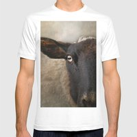 In A Sheep's Eye Mens Fitted Tee White SMALL