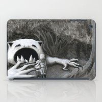 Monster in the Woods iPad Case
