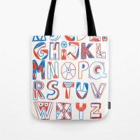 PlayFull Alphabet Tote Bag
