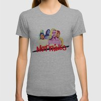 We are not things Womens Fitted Tee Athletic Grey SMALL