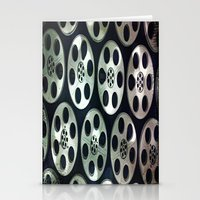 Movie Reel Ceiling  Stationery Cards
