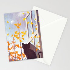 The Last Autumn Leaves Stationery Cards