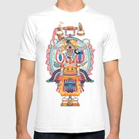 Jenkins Mens Fitted Tee White SMALL