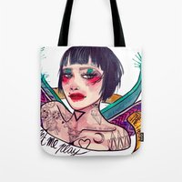 LUCILLE Tote Bag