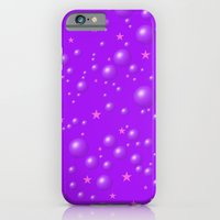iPhone & iPod Case featuring It's a purple dream among the stars by Pink grapes