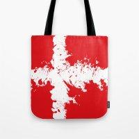 in to the sky, Denmark  Tote Bag