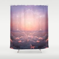 The Sun Is But A Morning… Shower Curtain