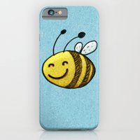 bee iPhone & iPod Cases featuring Bee by MaComiX
