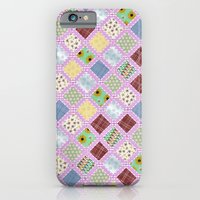 iPhone & iPod Case featuring Granny's Blanket by Karma Cases