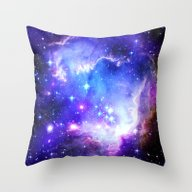 Throw Pillow featuring Galaxy by WhimsyRomance&Fun