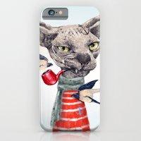 Sphynx cat iPhone 6 Slim Case