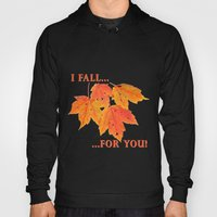 Orange Leaves Hoody