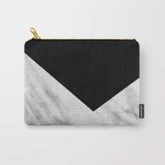Black Marble Collage Carry-All Pouch