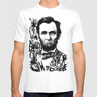Lincoln A.D. 2012 Mens Fitted Tee White SMALL
