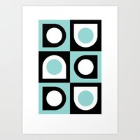 Oysters (2010) Art Print
