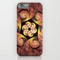 Little Pink Swirls iPhone 6 Slim Case