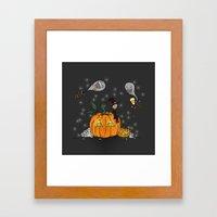 Halloween Spirits Framed Art Print