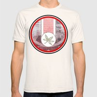 The Buckeye State Mens Fitted Tee Natural SMALL